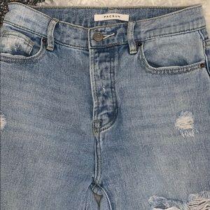 Pac Sun Distressed Jeans